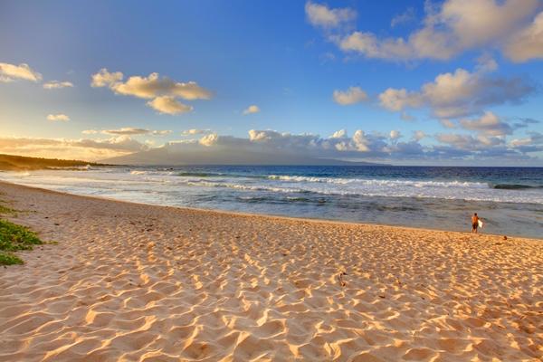 Hawaii, tropical Oneloa Beach in Maui