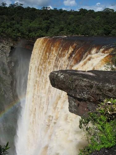Kaieteur Falls in western Guyana