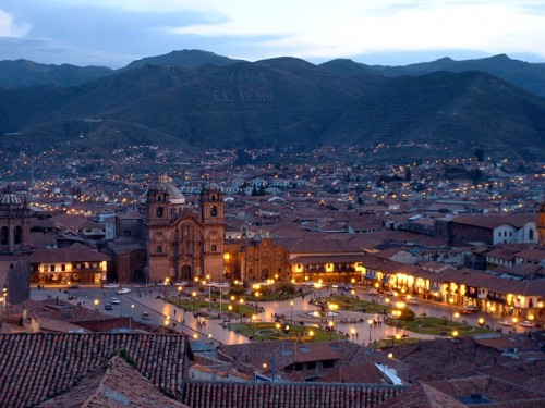 Cuzco at Night