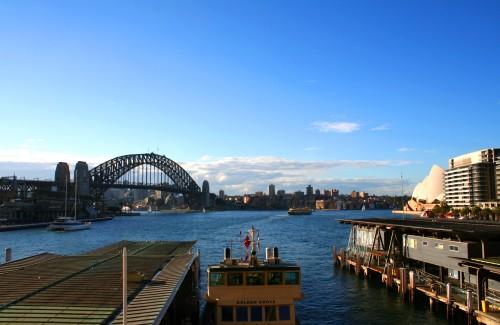 Sydney harbors