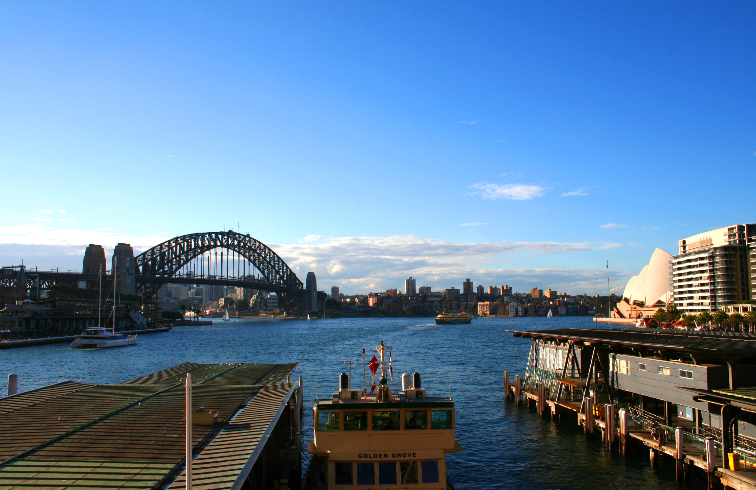 Exploring the vivacious gigantic Sydney harbors