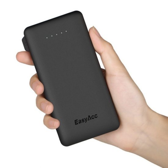 EasyAcc 6000 mAh external battery