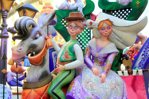 Las Fallas de Valencia: The Excitement of Beauty Wit and Fire